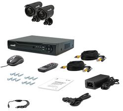 Комплект видеонаблюдения Страж Контрол 2У+ (Контрол 2У+)